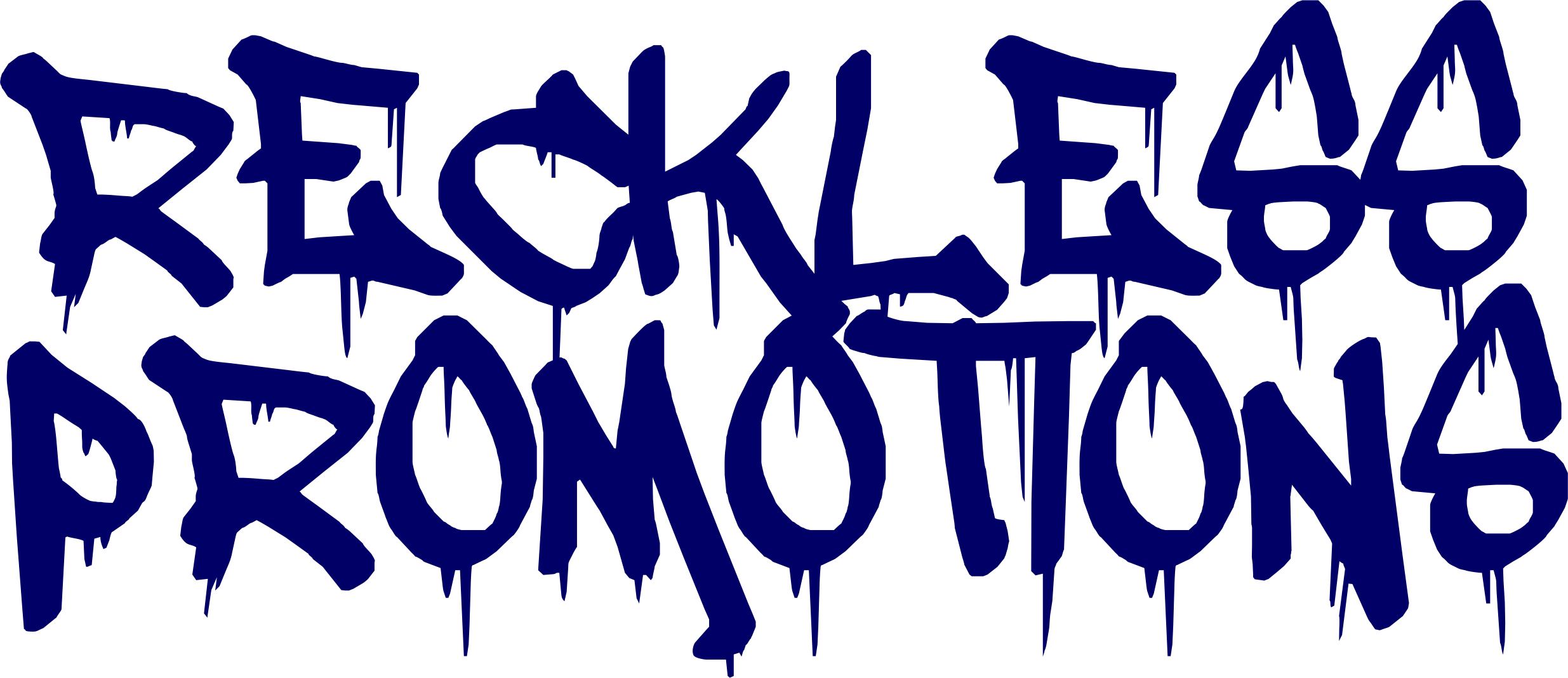Reckless Promotions Merchandise